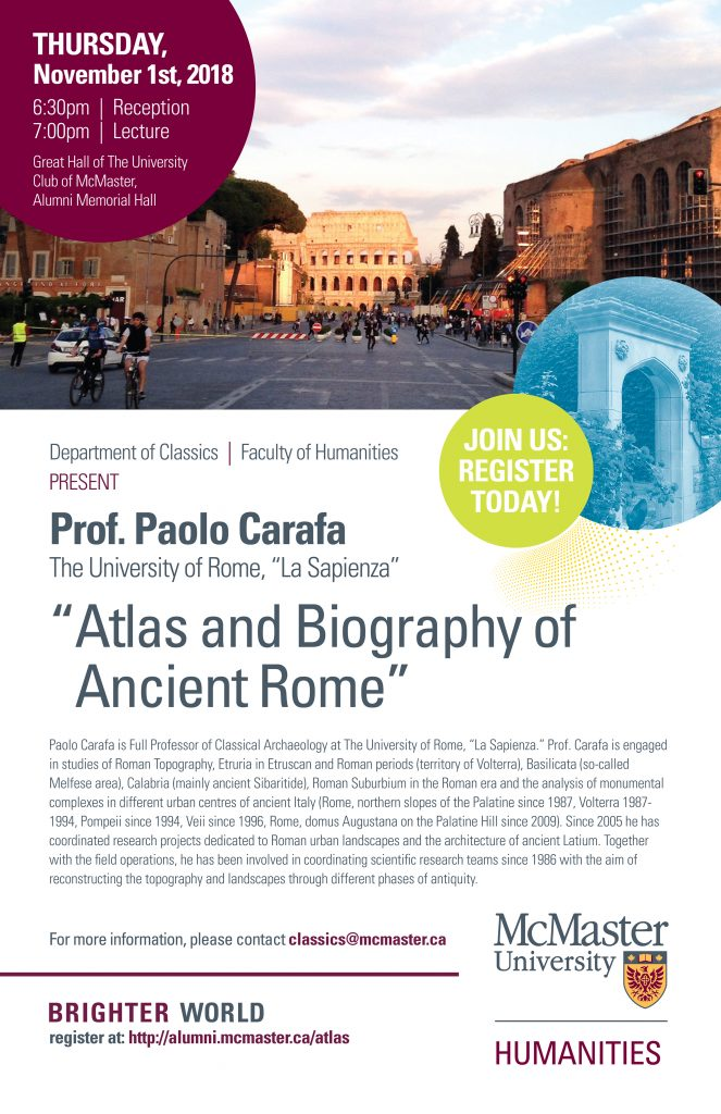 MacGlobal, Paolo Carafa guest lecture